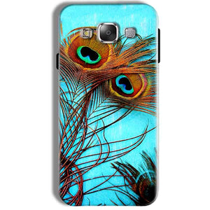 Samsung Galaxy J7 2016 Mobile Covers Cases Peacock blue wings - Lowest Price - Paybydaddy.com