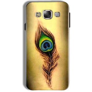 Samsung Galaxy J7 2016 Mobile Covers Cases Peacock coloured art - Lowest Price - Paybydaddy.com