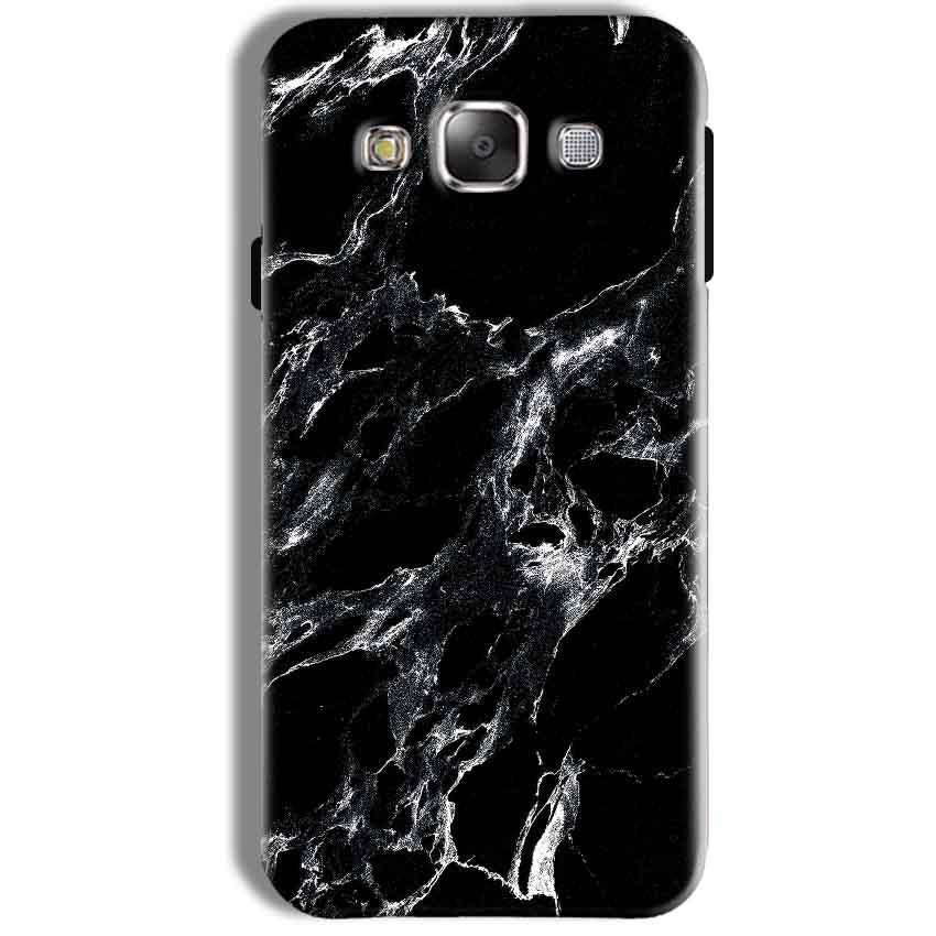 Samsung Galaxy J7 2016 Mobile Covers Cases Pure Black Marble Texture - Lowest Price - Paybydaddy.com