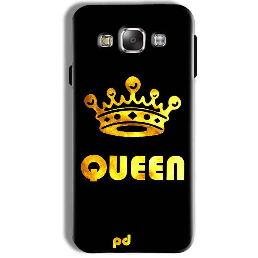 Samsung Galaxy J7 2016 Mobile Covers Cases Queen With Crown in gold - Lowest Price - Paybydaddy.com