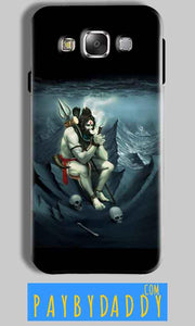 Samsung Galaxy J7 2016 Mobile Covers Cases Shiva Smoking - Lowest Price - Paybydaddy.com