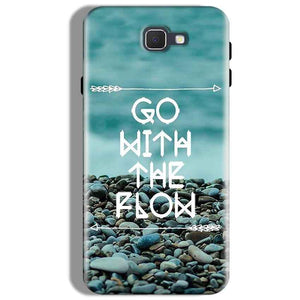 Samsung Galaxy J7 Prime Mobile Covers Cases Go With the flow- Lowest Price - Paybydaddy.com