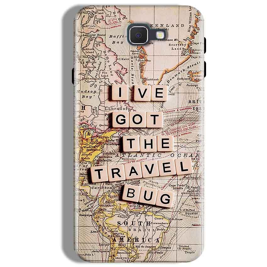 Samsung Galaxy J7 Prime Mobile Covers Cases Live Travel Bug - Lowest Price - Paybydaddy.com