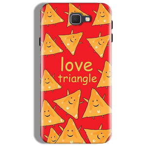 Samsung Galaxy J7 Prime Mobile Covers Cases Love Triangle - Lowest Price - Paybydaddy.com