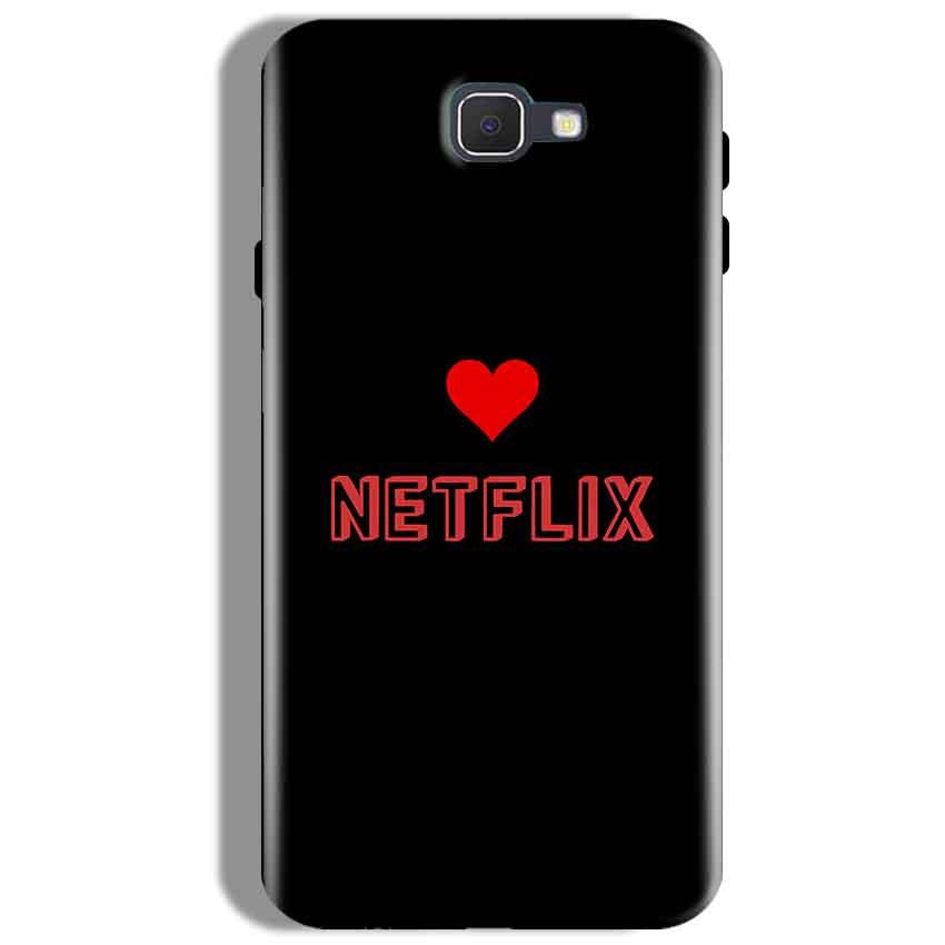 Samsung Galaxy J7 Prime Mobile Covers Cases NETFLIX WITH HEART - Lowest Price - Paybydaddy.com