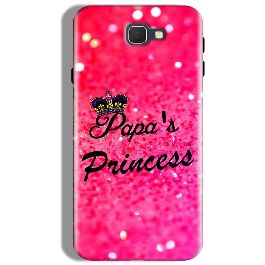 Samsung Galaxy J7 Prime Mobile Covers Cases PAPA PRINCESS - Lowest Price - Paybydaddy.com