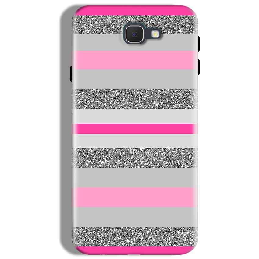 Samsung Galaxy J7 Prime Mobile Covers Cases Pink colour pattern - Lowest Price - Paybydaddy.com