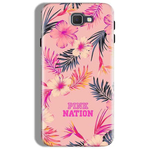 Samsung Galaxy J7 Prime Mobile Covers Cases Pink nation - Lowest Price - Paybydaddy.com
