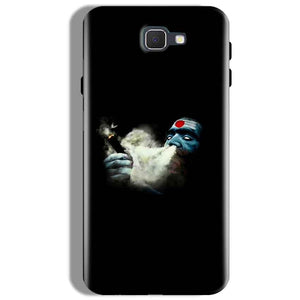 Samsung Galaxy J7 Prime Mobile Covers Cases Shiva Aghori Smoking - Lowest Price - Paybydaddy.com
