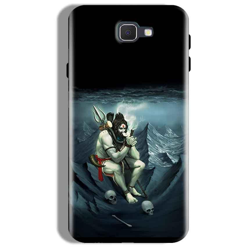 Samsung Galaxy J7 Prime Mobile Covers Cases Shiva Smoking - Lowest Price - Paybydaddy.com