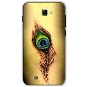 Samsung Galaxy Note 2 N7000 Mobile Covers Cases Peacock coloured art - Lowest Price - Paybydaddy.com