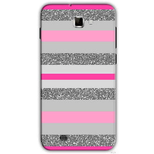 Samsung Galaxy Note 2 N7000 Mobile Covers Cases Pink colour pattern - Lowest Price - Paybydaddy.com