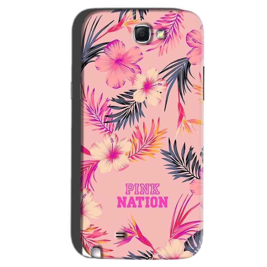 Samsung Galaxy Note 2 Mobile Covers Cases Pink nation - Lowest Price - Paybydaddy.com
