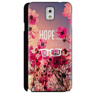 Samsung Galaxy Note 3 Mobile Covers Cases Hope in the Things Unseen- Lowest Price - Paybydaddy.com