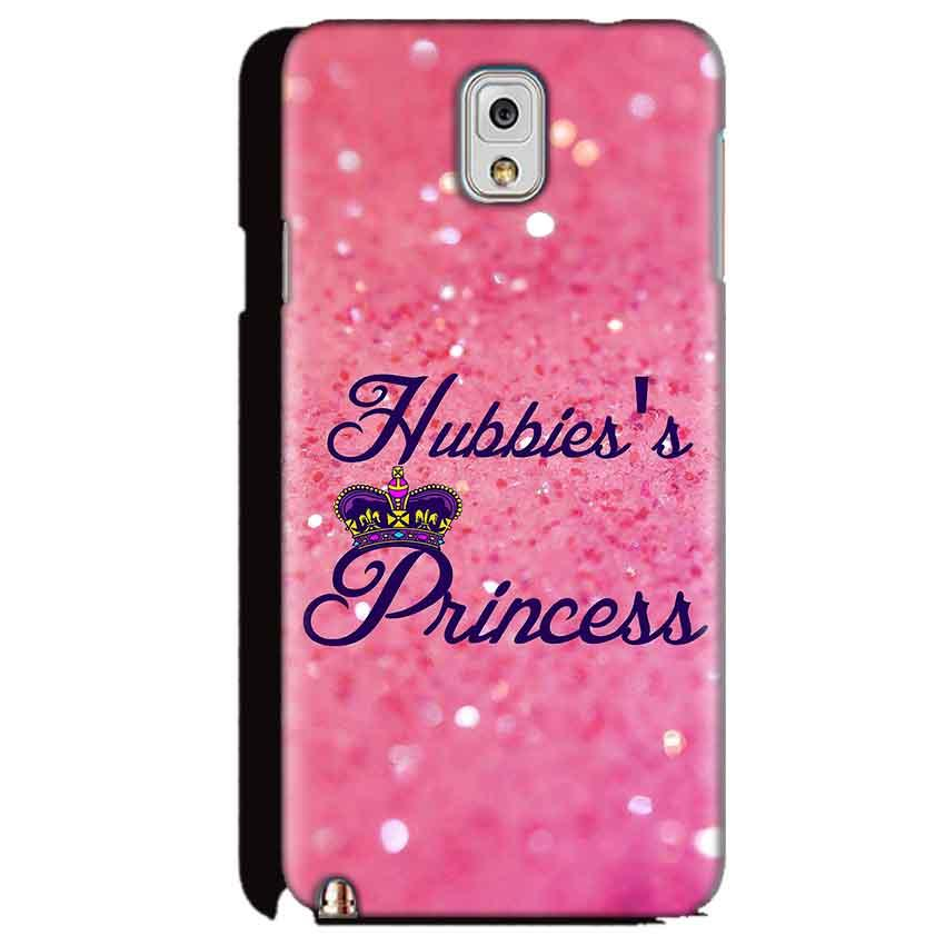 Samsung Galaxy Note 3 Mobile Covers Cases Hubbies Princess - Lowest Price - Paybydaddy.com