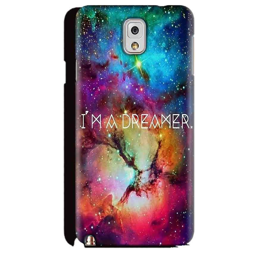 Samsung Galaxy Note 3 Mobile Covers Cases I am Dreamer - Lowest Price - Paybydaddy.com