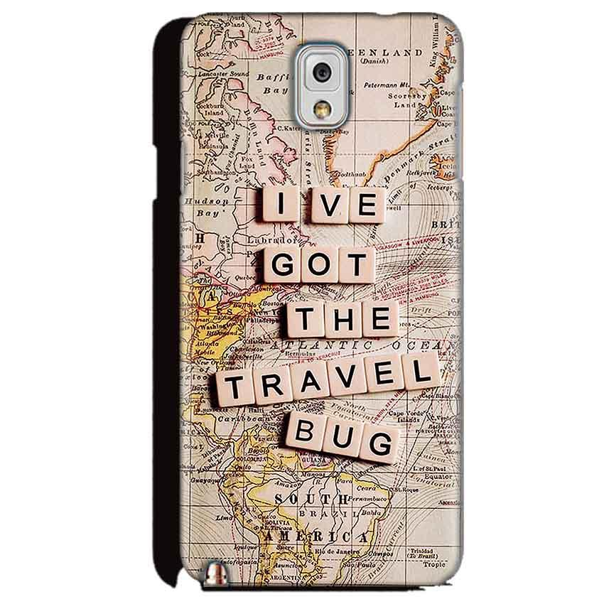 Samsung Galaxy Note 3 Mobile Covers Cases Live Travel Bug - Lowest Price - Paybydaddy.com