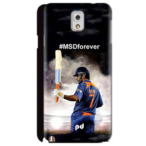 Samsung Galaxy Note 3 Mobile Covers Cases MS dhoni Forever - Lowest Price - Paybydaddy.com