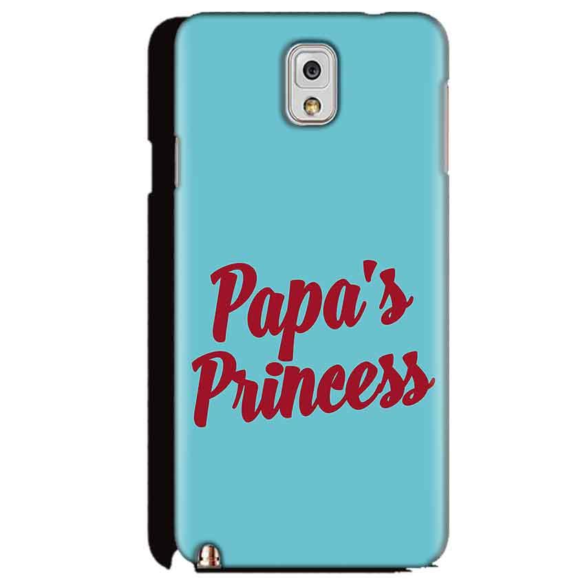 Samsung Galaxy Note 3 Mobile Covers Cases Papas Princess - Lowest Price - Paybydaddy.com