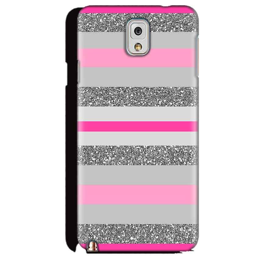 Samsung Galaxy Note 3 Mobile Covers Cases Pink colour pattern - Lowest Price - Paybydaddy.com