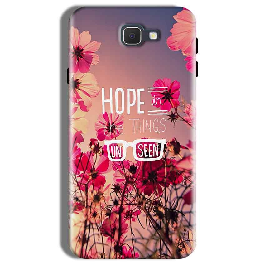 Samsung Galaxy On Nxt Mobile Covers Cases Hope in the Things Unseen- Lowest Price - Paybydaddy.com
