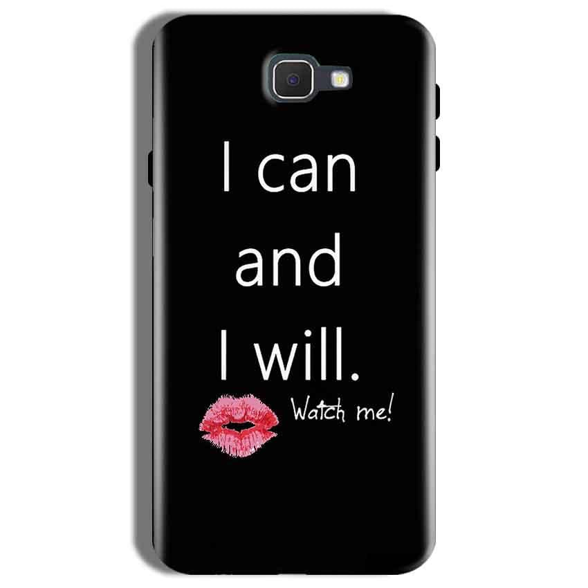 Samsung Galaxy On Nxt Mobile Covers Cases i can and i will Lips - Lowest Price - Paybydaddy.com