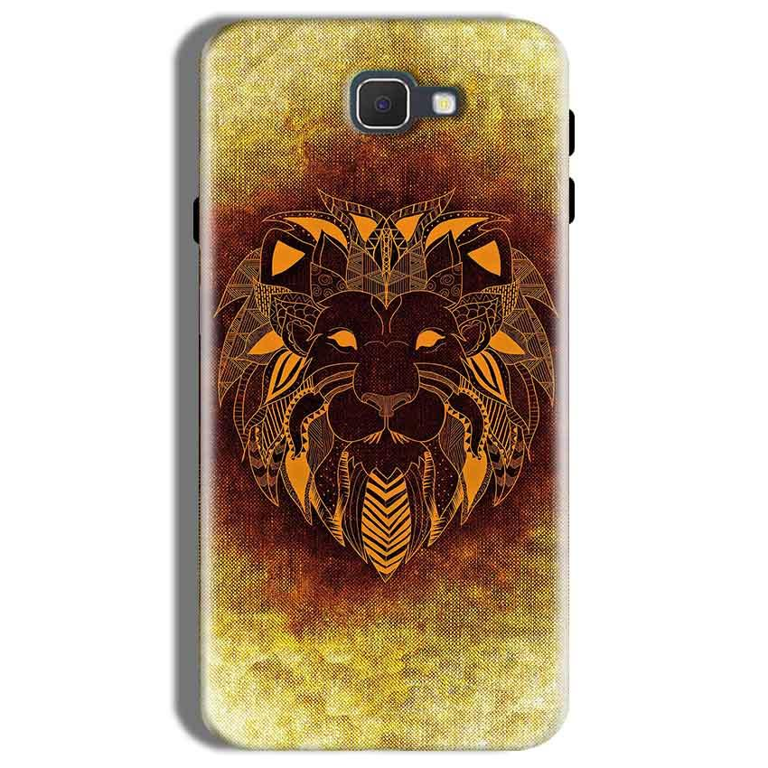 Samsung Galaxy On Nxt Mobile Covers Cases Lion face art - Lowest Price - Paybydaddy.com