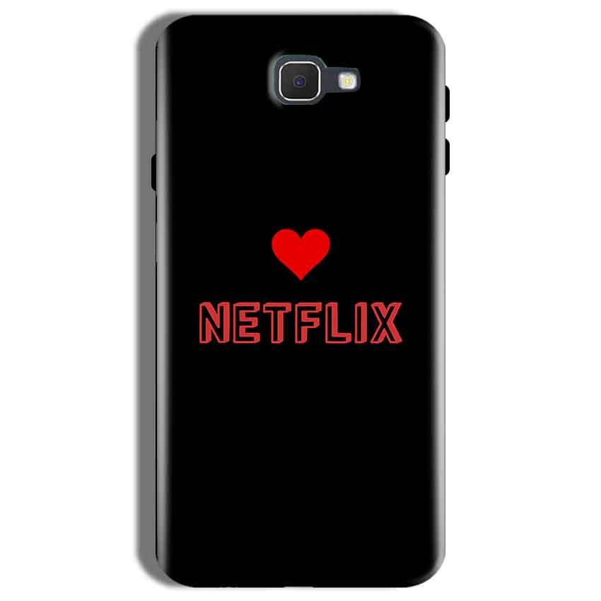 Samsung Galaxy On Nxt Mobile Covers Cases NETFLIX WITH HEART - Lowest Price - Paybydaddy.com