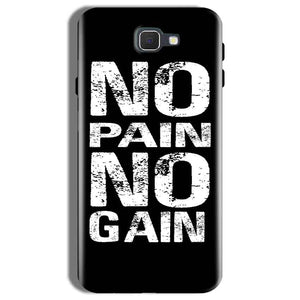Samsung Galaxy On Nxt Mobile Covers Cases No Pain No Gain Black And White - Lowest Price - Paybydaddy.com