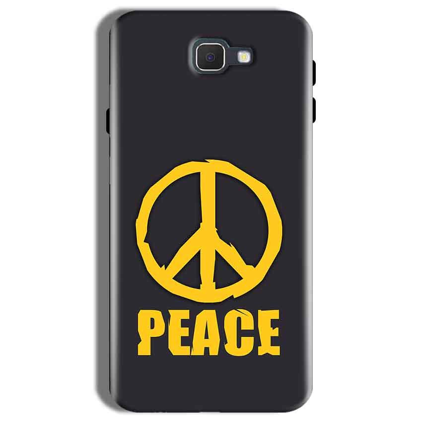 Samsung Galaxy On Nxt Mobile Covers Cases Peace Blue Yellow - Lowest Price - Paybydaddy.com