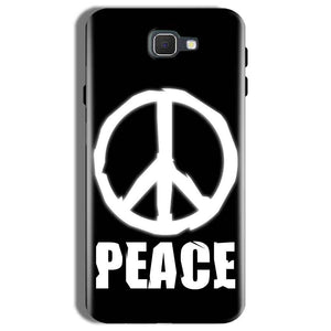 Samsung Galaxy On Nxt Mobile Covers Cases Peace Sign In White - Lowest Price - Paybydaddy.com