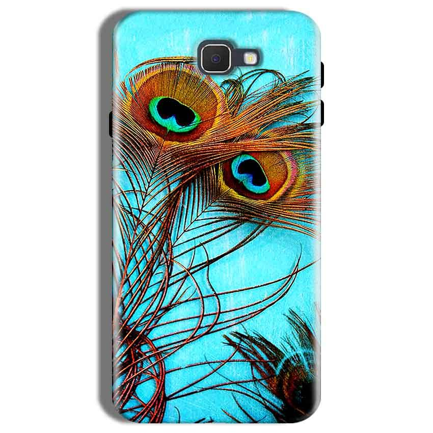 Samsung Galaxy On Nxt Mobile Covers Cases Peacock blue wings - Lowest Price - Paybydaddy.com