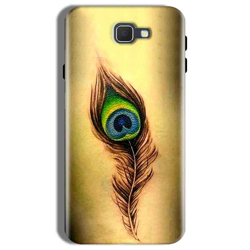 Samsung Galaxy On Nxt Mobile Covers Cases Peacock coloured art - Lowest Price - Paybydaddy.com