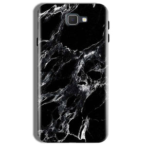 Samsung Galaxy On Nxt Mobile Covers Cases Pure Black Marble Texture - Lowest Price - Paybydaddy.com