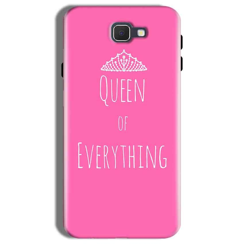 Samsung Galaxy On Nxt Mobile Covers Cases Queen Of Everything Pink White - Lowest Price - Paybydaddy.com