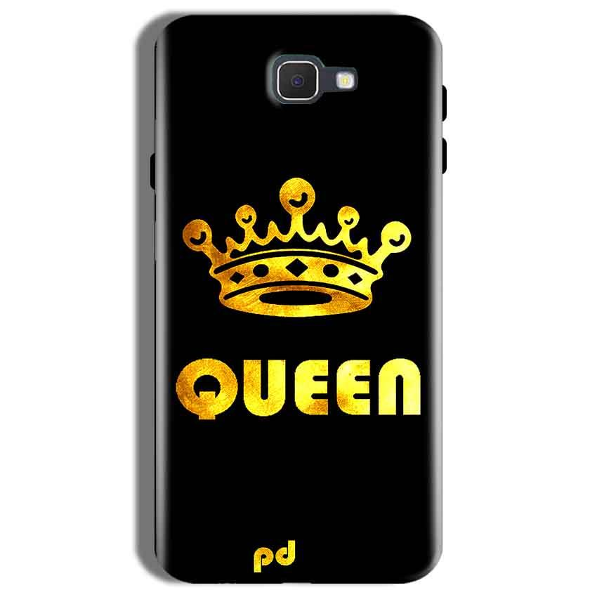 Samsung Galaxy On Nxt Mobile Covers Cases Queen With Crown in gold - Lowest Price - Paybydaddy.com