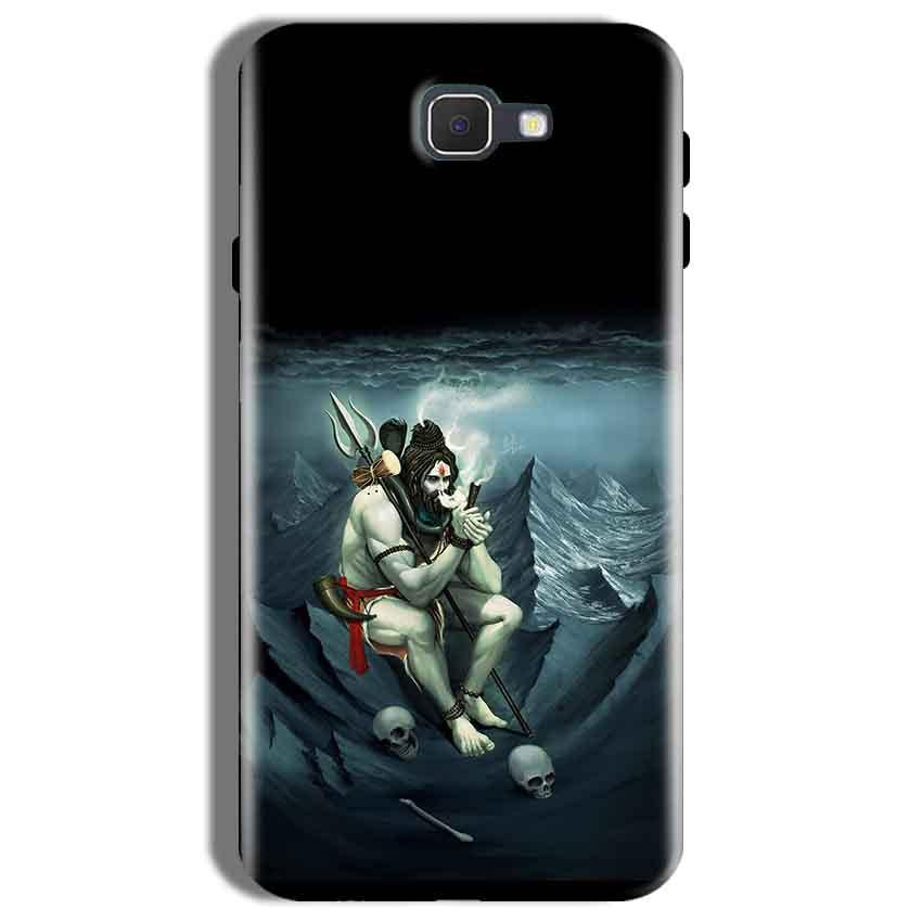 Samsung Galaxy On Nxt Mobile Covers Cases Shiva Smoking - Lowest Price - Paybydaddy.com