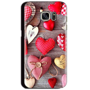 Samsung Galaxy S6 Mobile Covers Cases Hearts- Lowest Price - Paybydaddy.com
