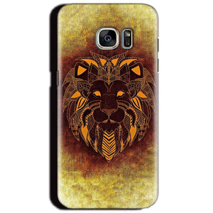 Samsung Galaxy S6 Mobile Covers Cases Lion face art - Lowest Price - Paybydaddy.com