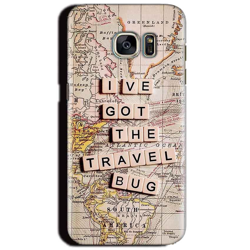 Samsung Galaxy S6 Mobile Covers Cases Live Travel Bug - Lowest Price - Paybydaddy.com