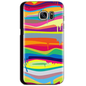 Samsung Galaxy S6 Mobile Covers Cases Melted colours - Lowest Price - Paybydaddy.com