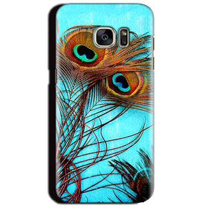 Samsung Galaxy S6 Mobile Covers Cases Peacock blue wings - Lowest Price - Paybydaddy.com