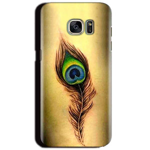 Samsung Galaxy S6 Mobile Covers Cases Peacock coloured art - Lowest Price - Paybydaddy.com