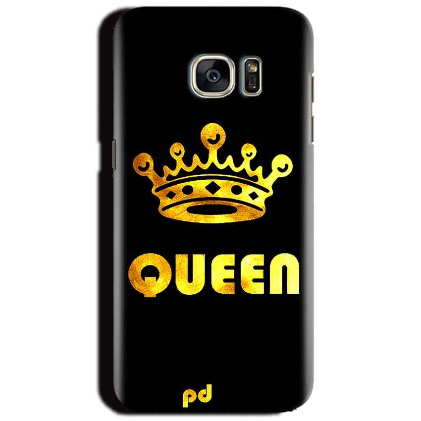 Samsung Galaxy S6 Mobile Covers Cases Queen With Crown in gold - Lowest Price - Paybydaddy.com