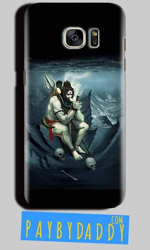 Samsung Galaxy S6 Mobile Covers Cases Shiva Smoking - Lowest Price - Paybydaddy.com