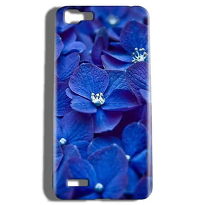 Vivo V1 Mobile Covers Cases Blue flower - Lowest Price - Paybydaddy.com
