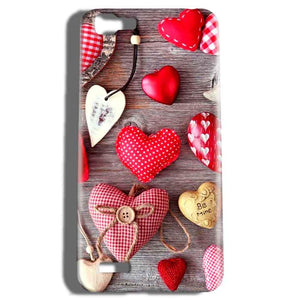 Vivo V1 Mobile Covers Cases Hearts- Lowest Price - Paybydaddy.com