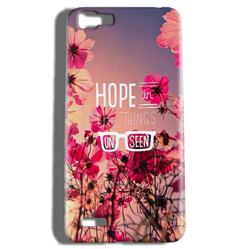 Vivo V1 Mobile Covers Cases Hope in the Things Unseen- Lowest Price - Paybydaddy.com