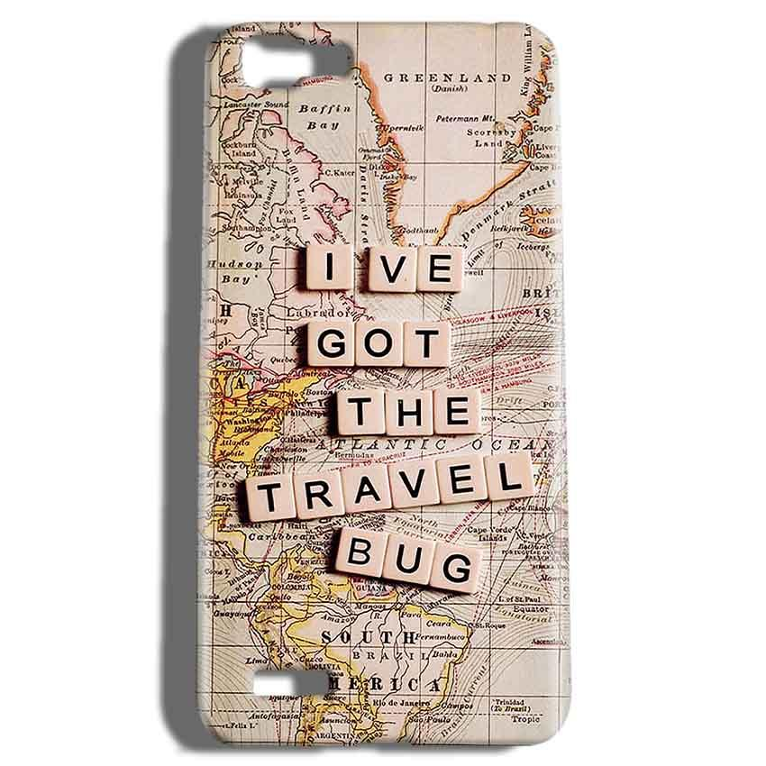 Vivo V1 Mobile Covers Cases Live Travel Bug - Lowest Price - Paybydaddy.com