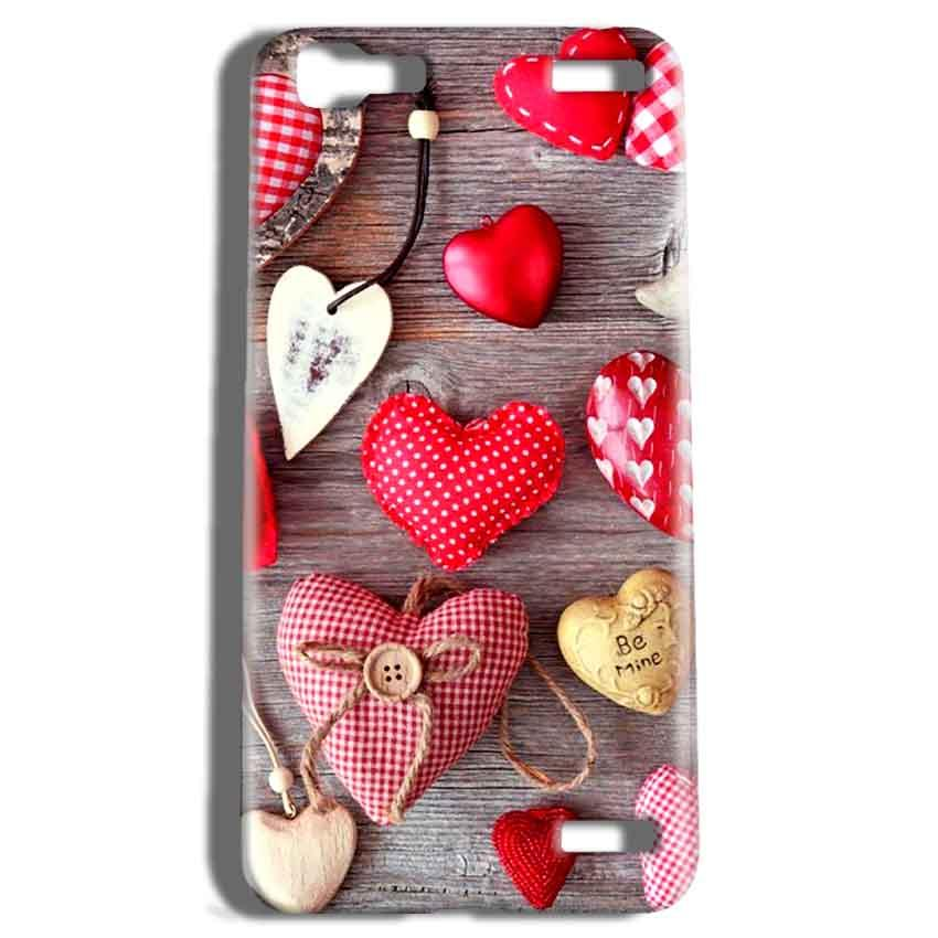 Vivo V1 Max Mobile Covers Cases Hearts- Lowest Price - Paybydaddy.com